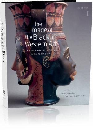 Book jacket: The Image of the Black in Western Art, Volume I: From the Pharaohs to the Fall of the Roman Empire