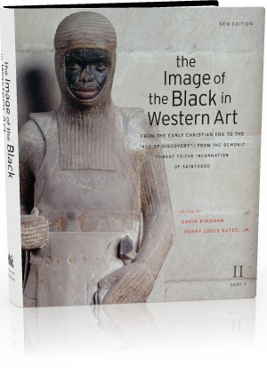 Book jacket: The Image of the Black in Western Art, Volume II: From the Early Christian Era to the 'Age of Discovery', Part 1: From the Demonic Threat to the Incarnation of Sainthood