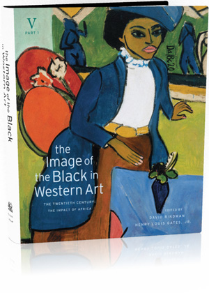 Book jacket: The Image of the Black in Western Art, Volume V: The Twentieth Century, Part 1: The Impact of Africa
